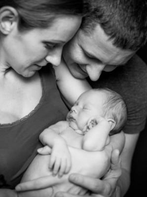 דולה ובן הזוג של היולדת